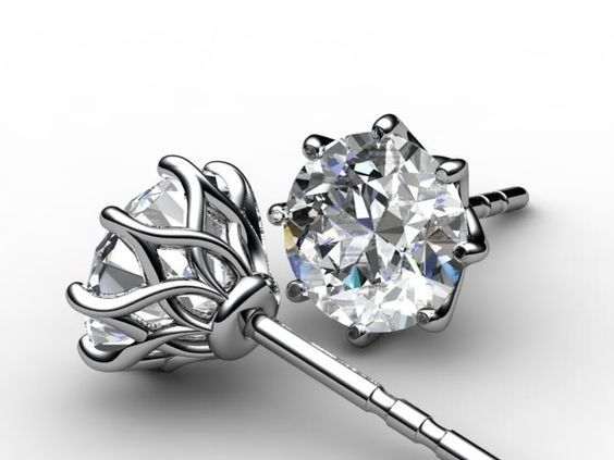 How To Buy Diamond Stud Earrings For Your Lady. To read more visit at http://www.candere.com/