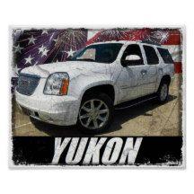 2014 Yukon Denali Poster