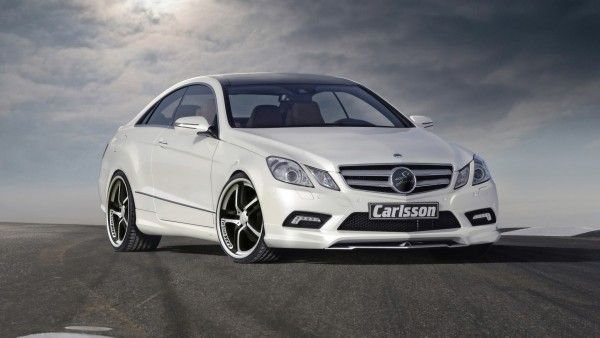 MB E350 Coupe, look at that sleek white machine!