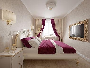 Трехкомнатная квартира в Пушкине в стиле легкой классики, 73 кв.м.