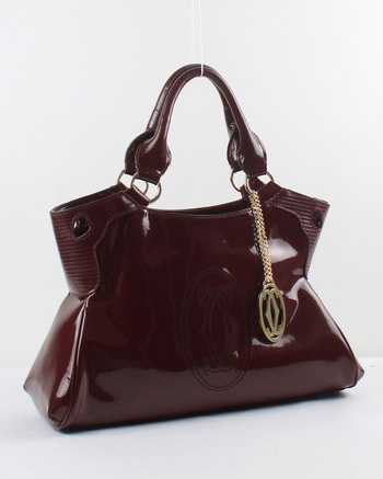 Cartier Marcello bag in patent leather - mine is black
