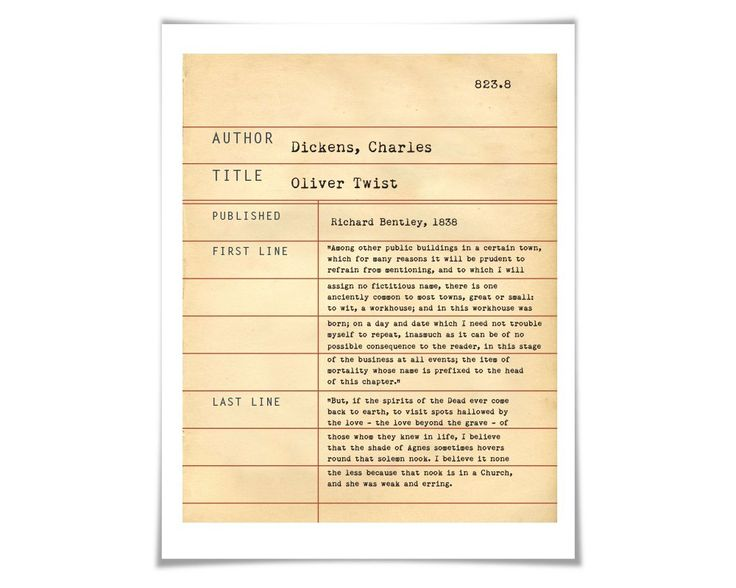 Oliver Twist Term Paper