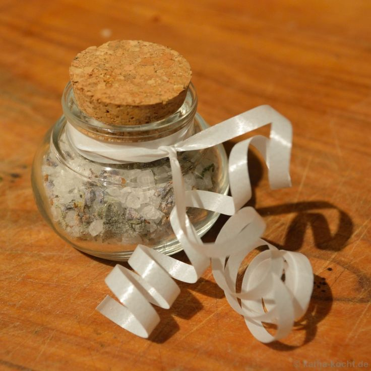 Salbei-Lavendel Salz - Katha-kocht!