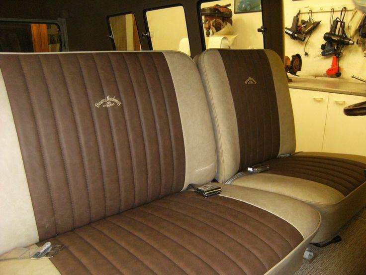 Bernard Newbury Split Screen Van Cab Seats Kombi