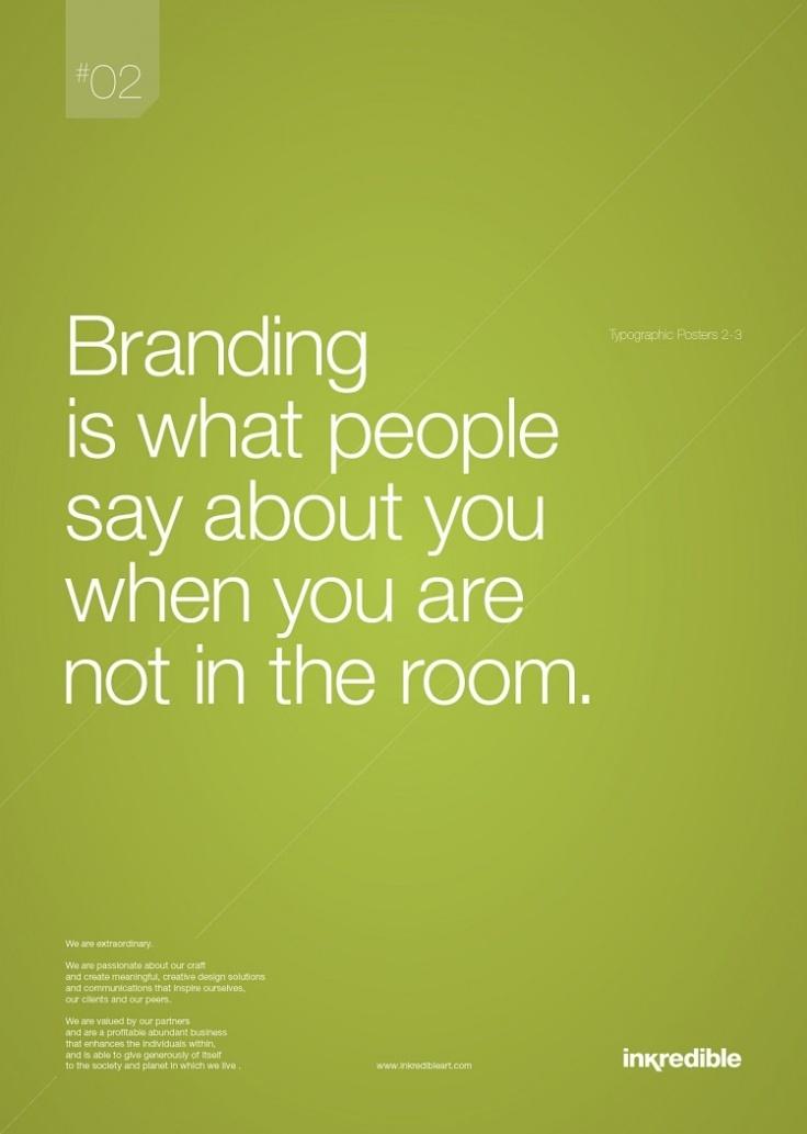 Branding is ...