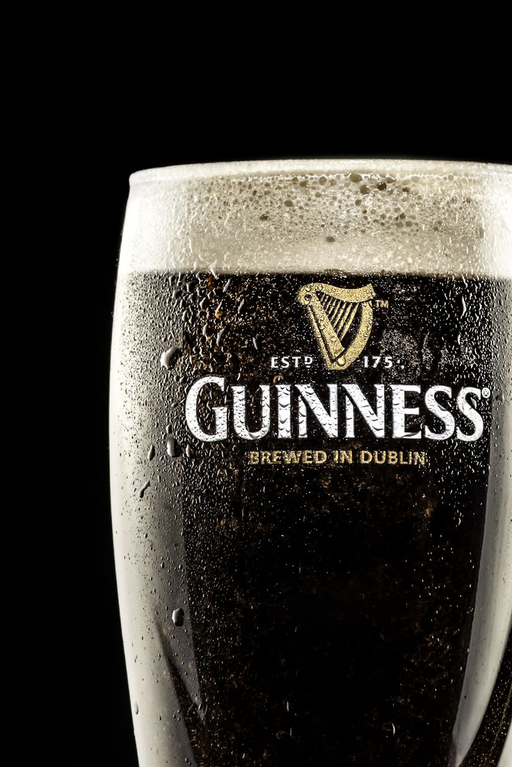 Another Commercial Guinness Glass Photography
