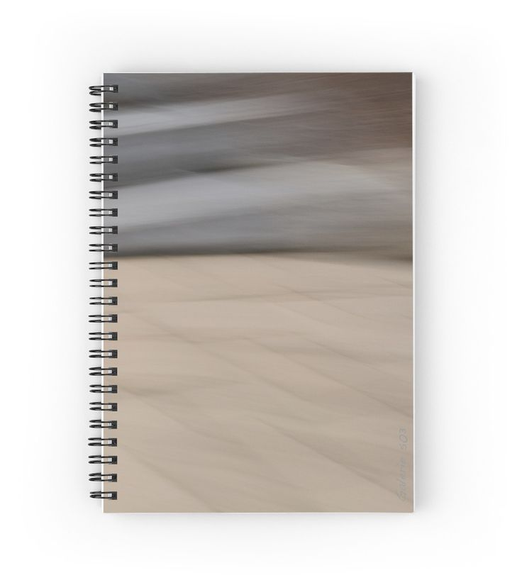 Abstract Wave Spiral Notebooks by Galerie 503