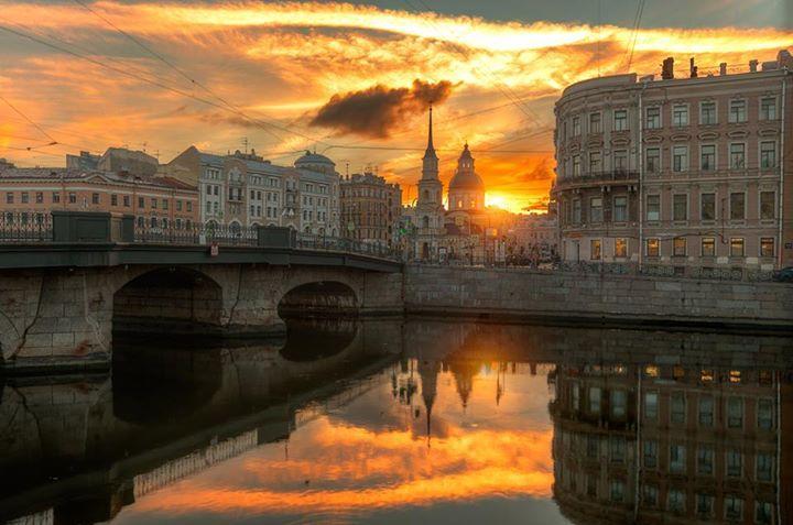 Рассветы и закаты Северной столицы... Восхищайтесь;))