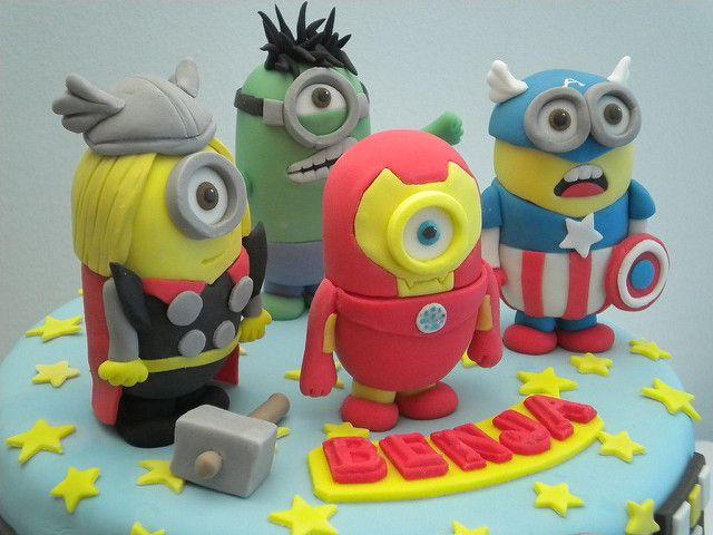 MInions Superheroes | por Pastelera Bakery Shop