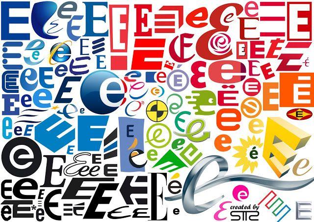 "SanTTcheZ: Alphabet logo typographie: Lettre ""E"" bySTTZ"