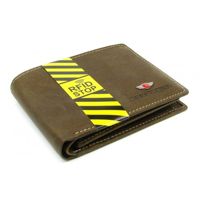 Luxusní pánská peněženka hnědá - peněženky AHAL