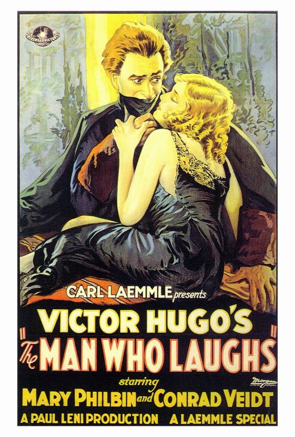 The Man Who Laughs 27x40 Movie Poster (1928)
