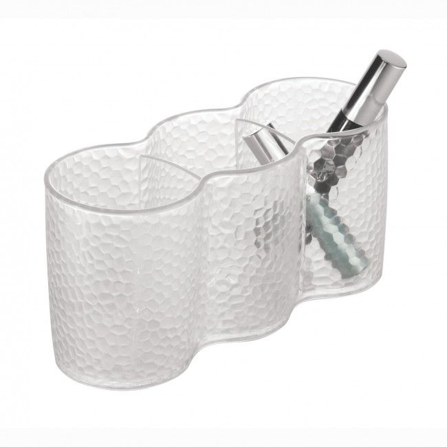 Organize your cosmetics with this trio of storage cups.