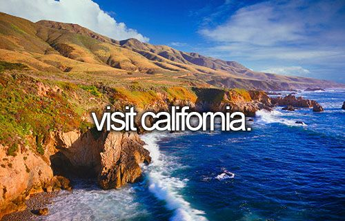 Been to California MANY TIMES... but it doesn't mean I don't want to go again.. and again... and AGAIN.