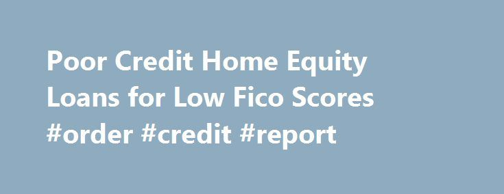 Bad credit business loans poor credit business financing for C home loans