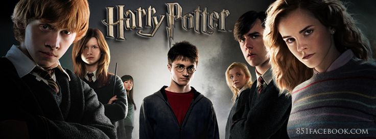 Movie Timeline Facebook Covers: Harry Potter