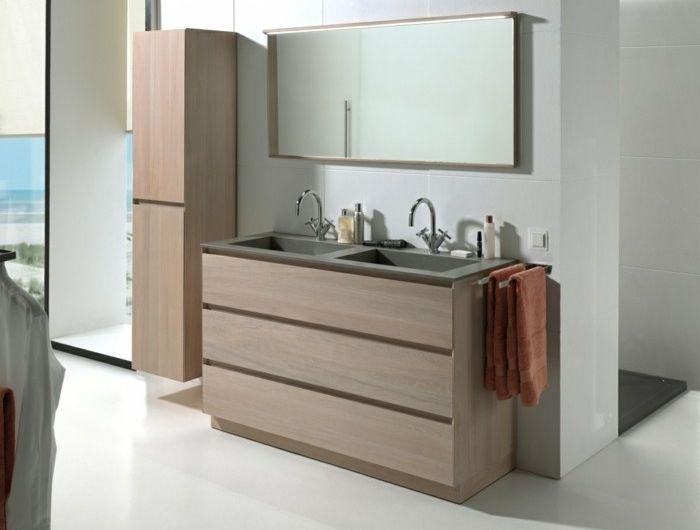 meuble salle de bain double vasque 120 cm conforama