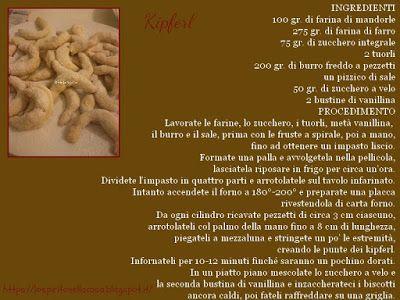 Tre ricette di biscotti natalizi: Kipferl.