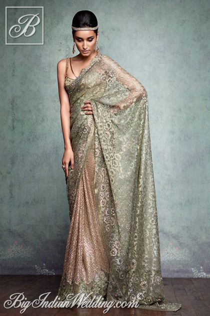 Tarun Tahiliani #couture #saree
