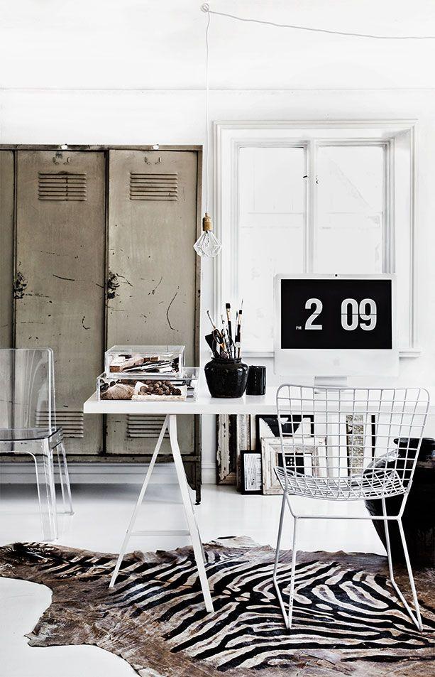 hemma hos fru stilista arbetsrum