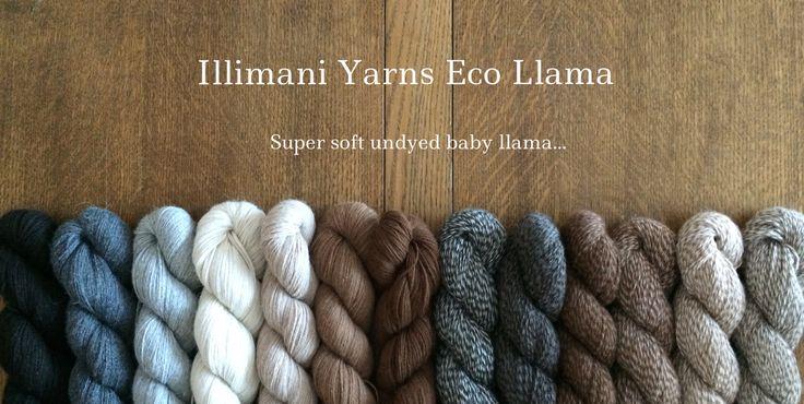 Illimani Yarns Eco Llama
