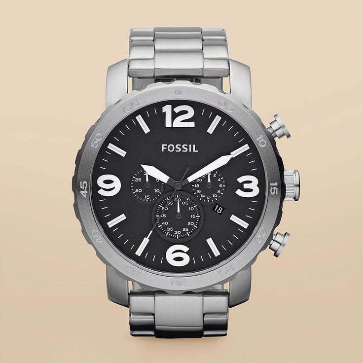 FOSSIL® Watch Styles Casual: Nate Stainless Steel Watch JR1353