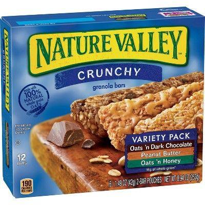 Nature Valley Crunchy Granola Bars - 8.94oz