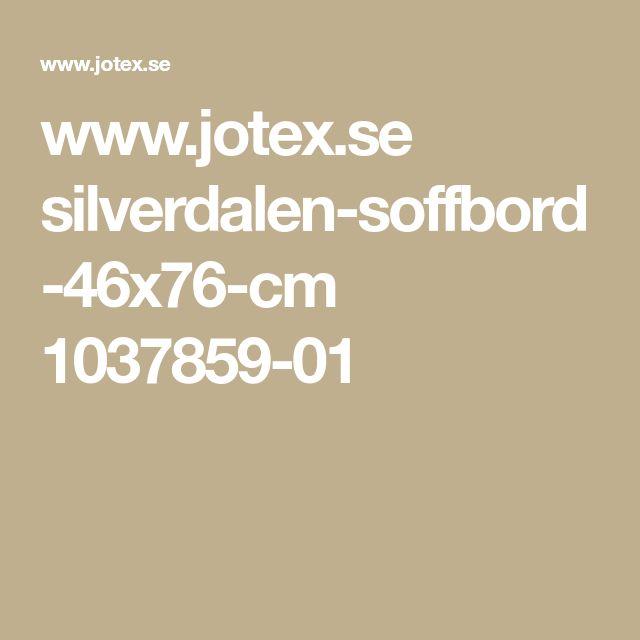 www.jotex.se silverdalen-soffbord-46x76-cm 1037859-01