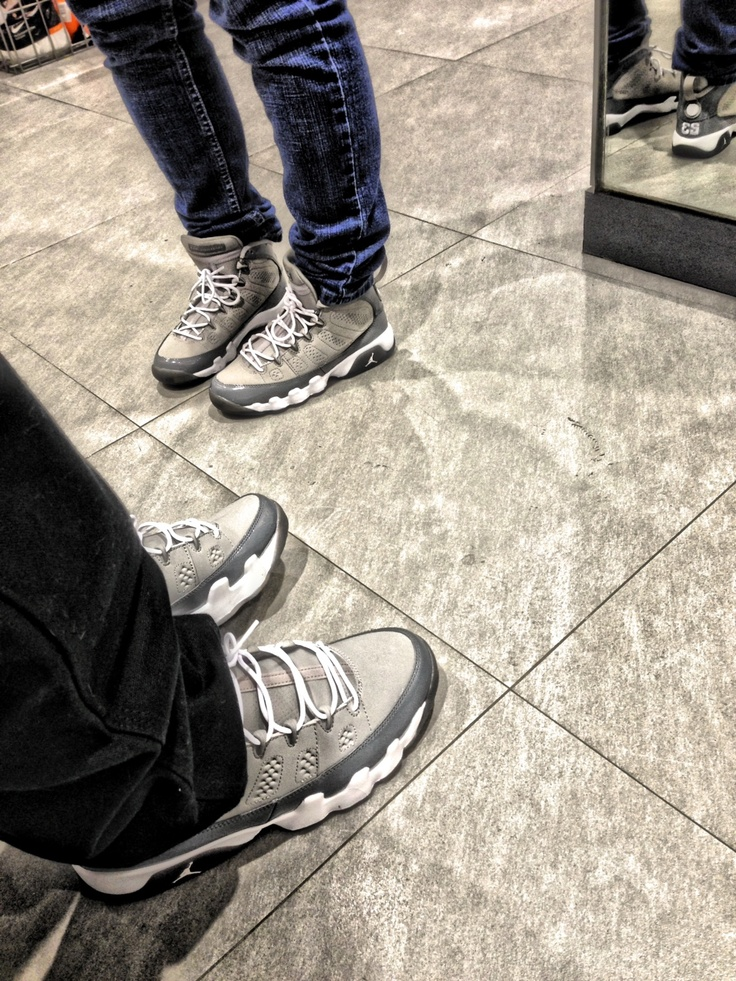 Couple of Cool Grey 9's ♡   Shoes - 382.3KB