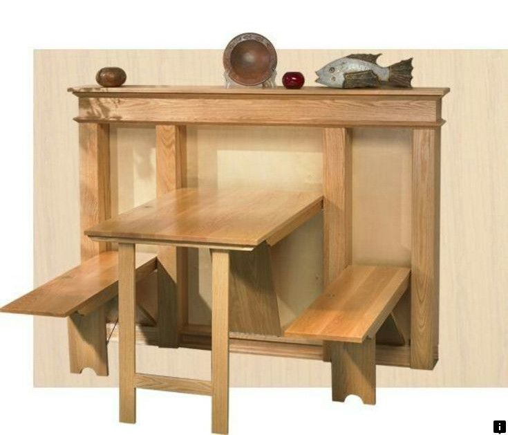 Look At The Webpage To See More On Bed Desk Combo Click The Link To Read More Looking At Our Webs Diy Kitchen Table Fold Down Table Kitchen Table Small Space