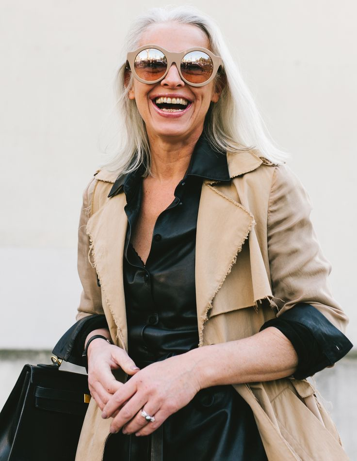 Having been photographed by Mehdi Lacoste during Paris Fashion Week in The Leather Black Dress - that I designed under my own label BLCK - was already a great joy! To then find yourself back on Vogue.com made me smile even more ;-)