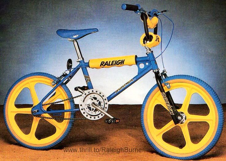 Yellow And Blue Bmx Bikes In Leeds 17