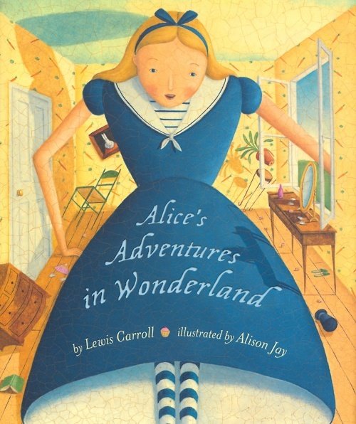 Lewis Carroll's Alice in Wonderland cover by Alison Jay