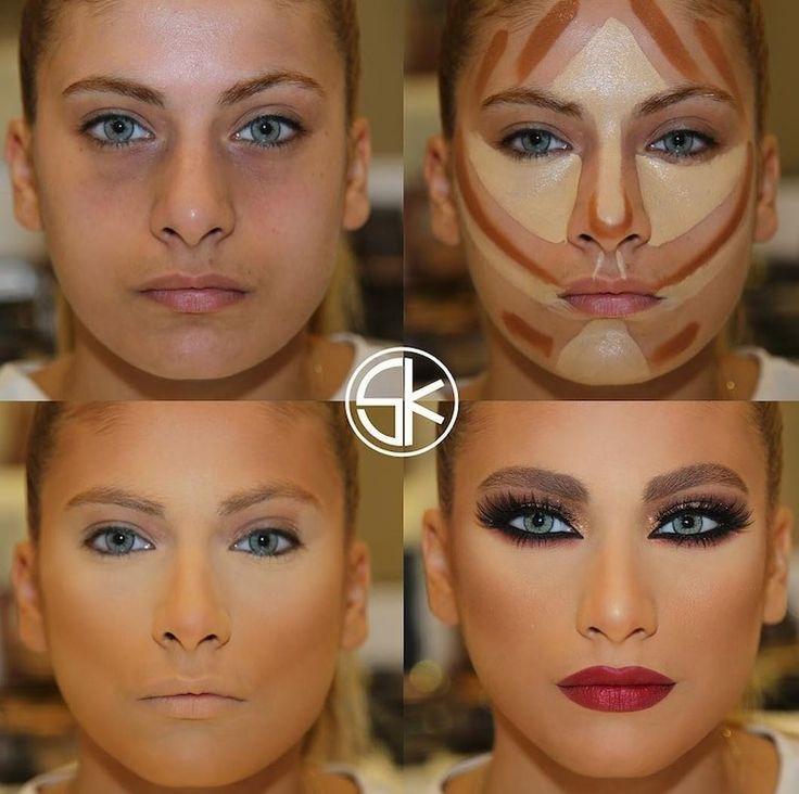 Учимся наносить макияж с фото