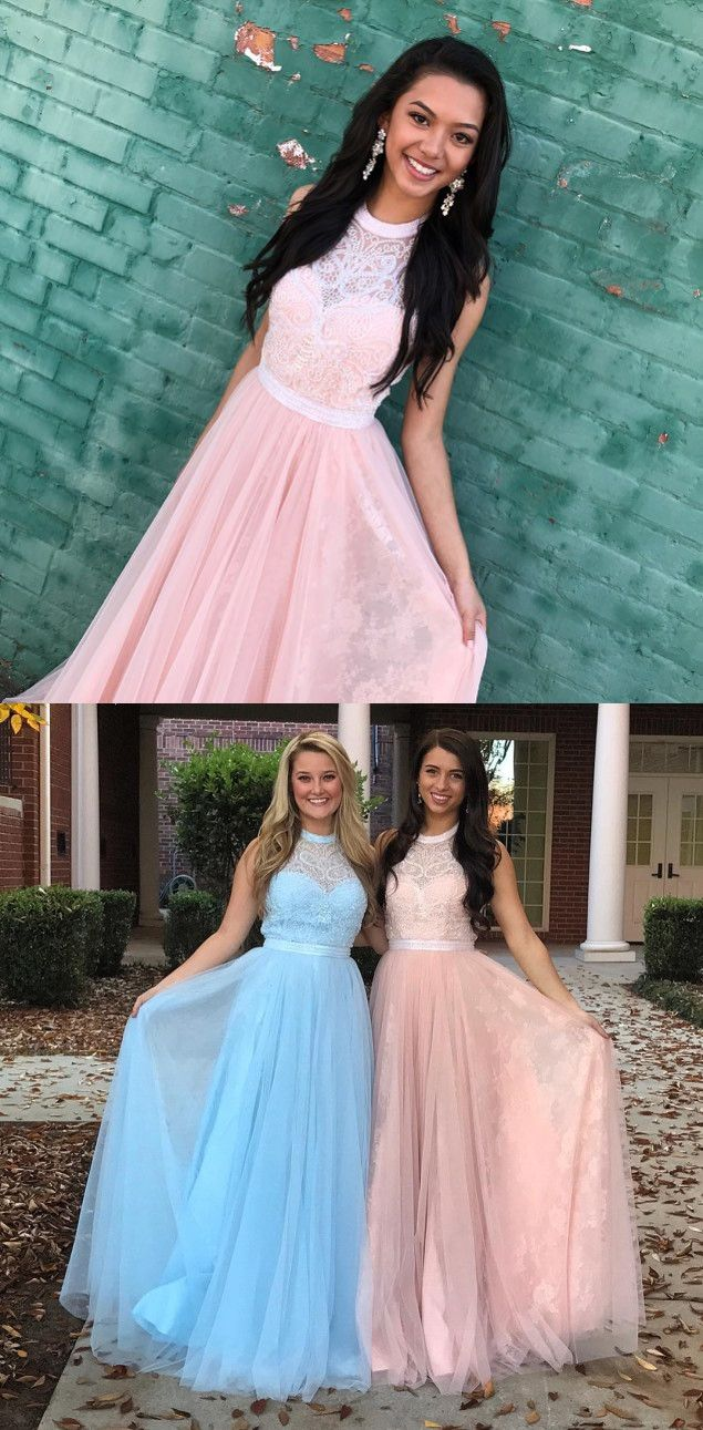 elegant prom dress, 2018 prom dress, pink prom dress, long prom dress, blue prom dress, graduation dress, formal evening dress