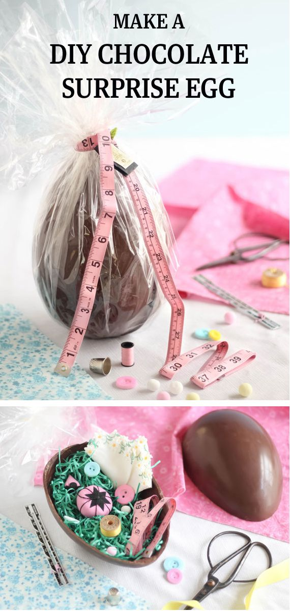 #Easter #DIY #chocolate #egg