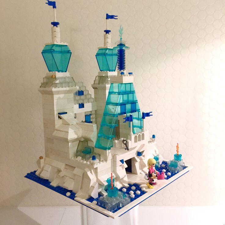 Lego, frozen, legocastle, legobuildings