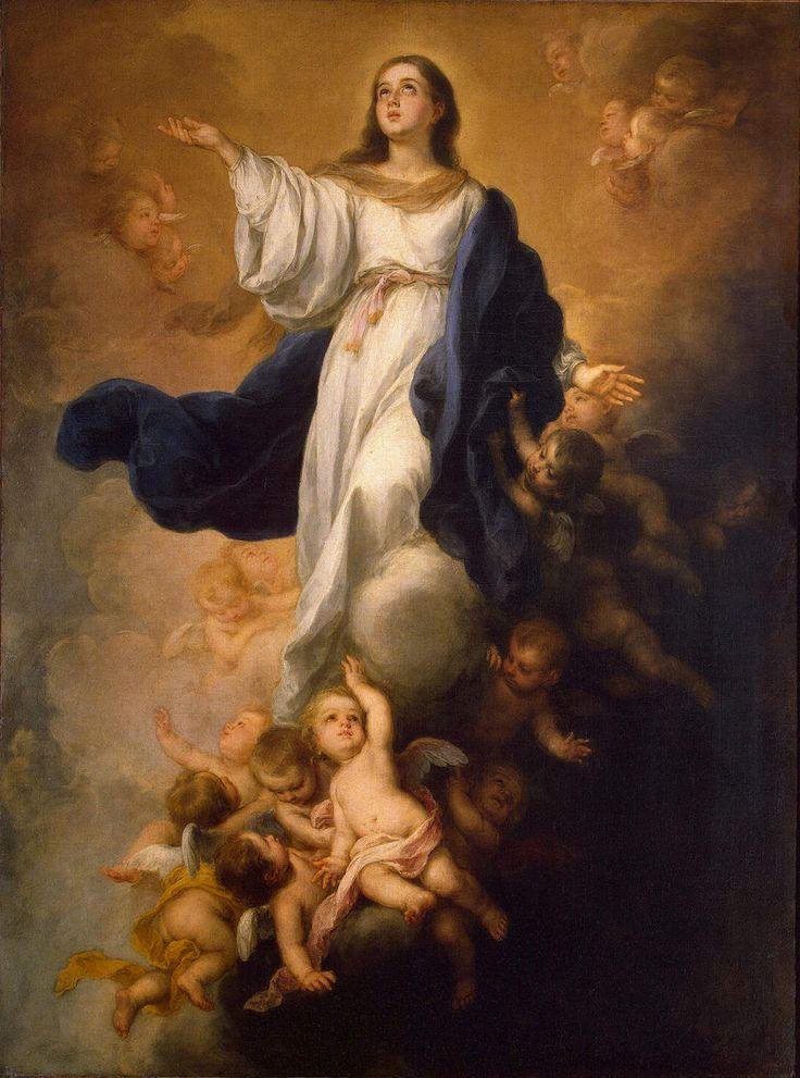 The Assumption of the Virgin - Bartolome Esteban Murillo