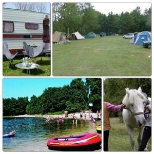 Een overzicht van heel veel leuke idyllische campings in Nederland met kids: Camping De Vledders