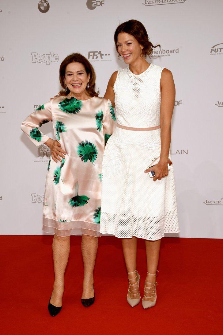 Pin for Later: Seht alle Stars beim Deutschen Filmpreis Hannelore Elsner und Jessica Schwarz