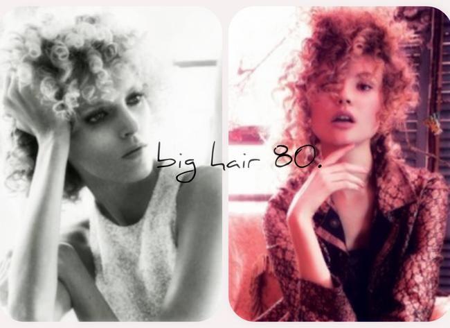 Anja Rubik i Magda Frąckowiak - big hair w stylu lat 80.