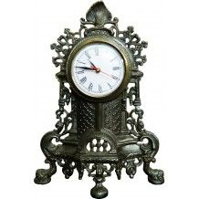 Vintage style clock, gives your home, living room a unique and trendy style check out this product details on :- http://decorwalk.com/home/2-vintage-style-wall-stand-clock.html