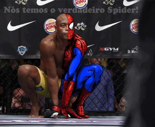 Anderson Silva - The Spider! Back after broken leg in a fight this Saturday 1/31/15