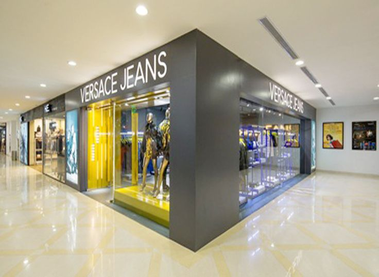 We finished design consultant & Interior construction works Versace Jeans store at Union Square, Dist 1, HCMC, Viet Nam