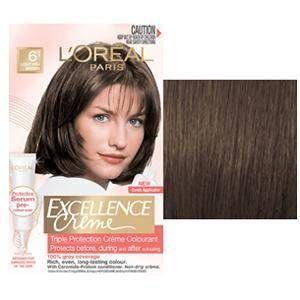 Loreal Excellence Creme - 6.1 Koyu Kumral Küllü - Saç Boyası | Set Boyalar | Türkiye´nin Kozmetik Markası - Odak Kozmetik ve Parfümeri