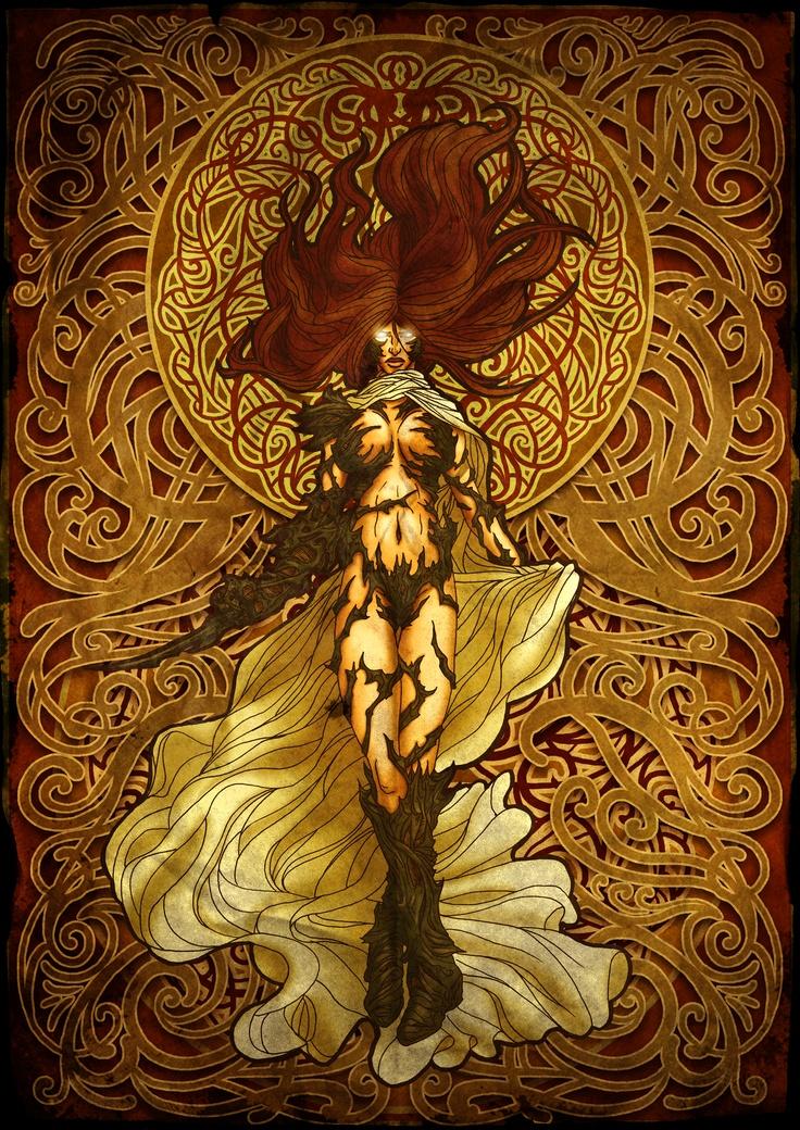 Witchblade Art Nouveau
