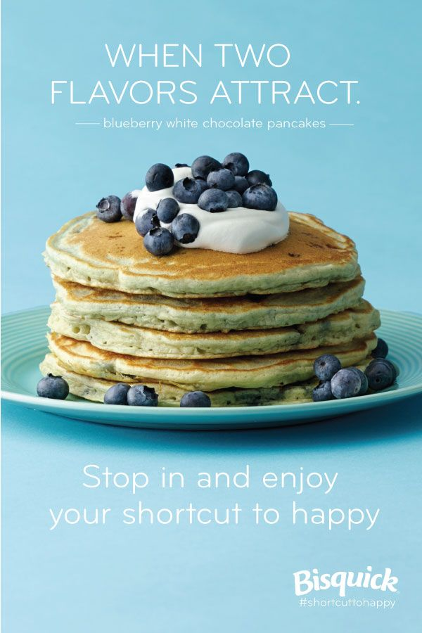 Blueberries and white chocolate combine to make one happy breakfast ...
