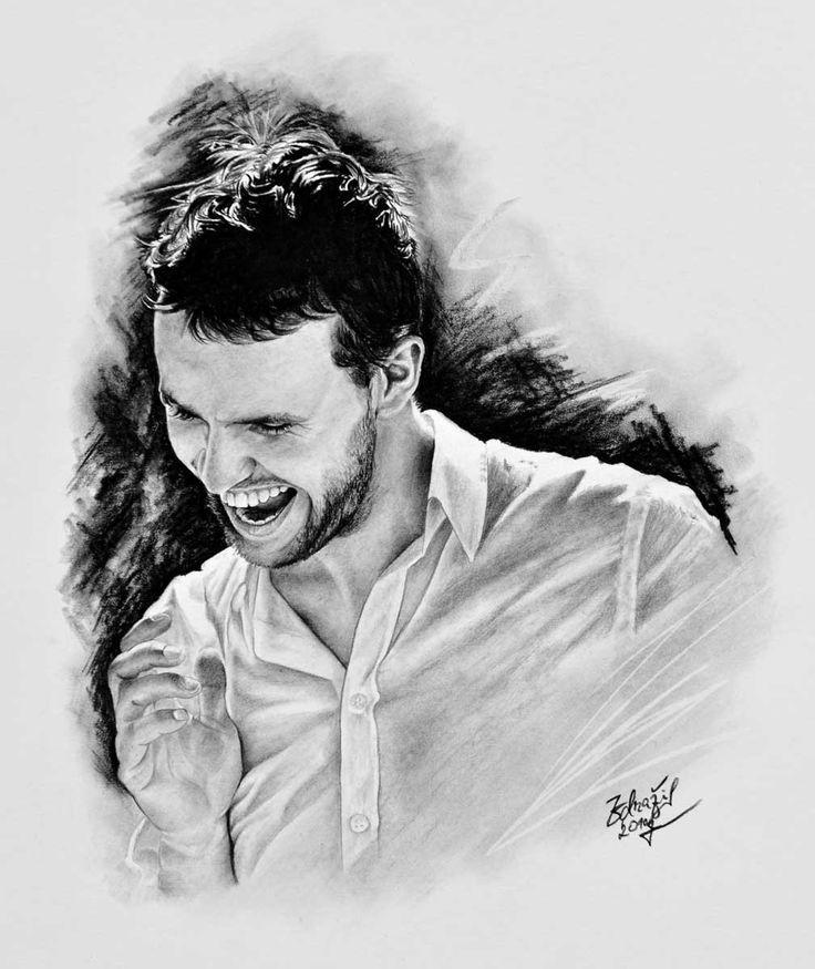 Kresba mladého muže