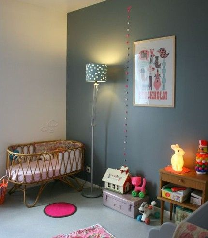 Decoration chambre bebe fille vintage chambre b b pinterest vintage bebe and decoration Chambre vintage fille