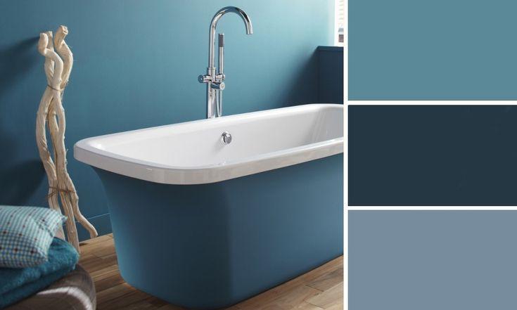 Quelles couleurs se marient avec le bleu photos d co - Quelle couleur avec le bleu ...